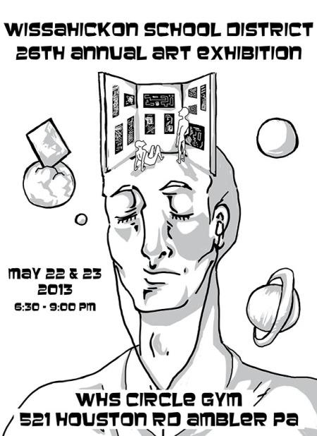 Art Show Poster 2013 blog